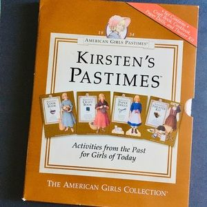 Kirsten's Pastimes The American Girl Collection